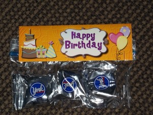 Photo Card Toppers for Birthdays