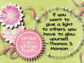 If you want to give a light – quote