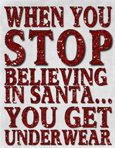 believe in santa sm