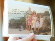 Proclamation on the Family Photo Book 4 x 6 size