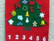 Christmas Advent Calendar craft – picture only