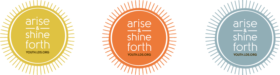 Arise and shine forth candle holders the idea door for Idea door yw