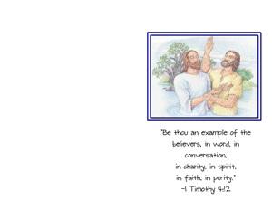 Baptism Program Covers The Idea Door