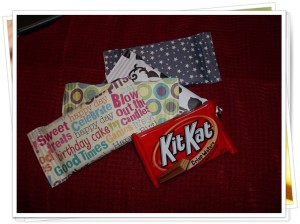 Kit Kat Bar Wrapper (or any bar)