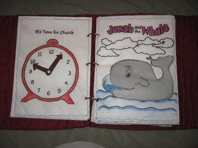 Quiet book to sew idea the idea door for The idea door quiet book
