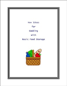 Basic Food Storage booklet