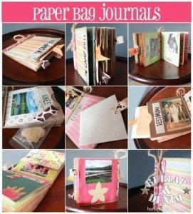 Paper bag journals for girls camp the idea door for Idea door yw