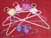 Yarn Covered Hanger