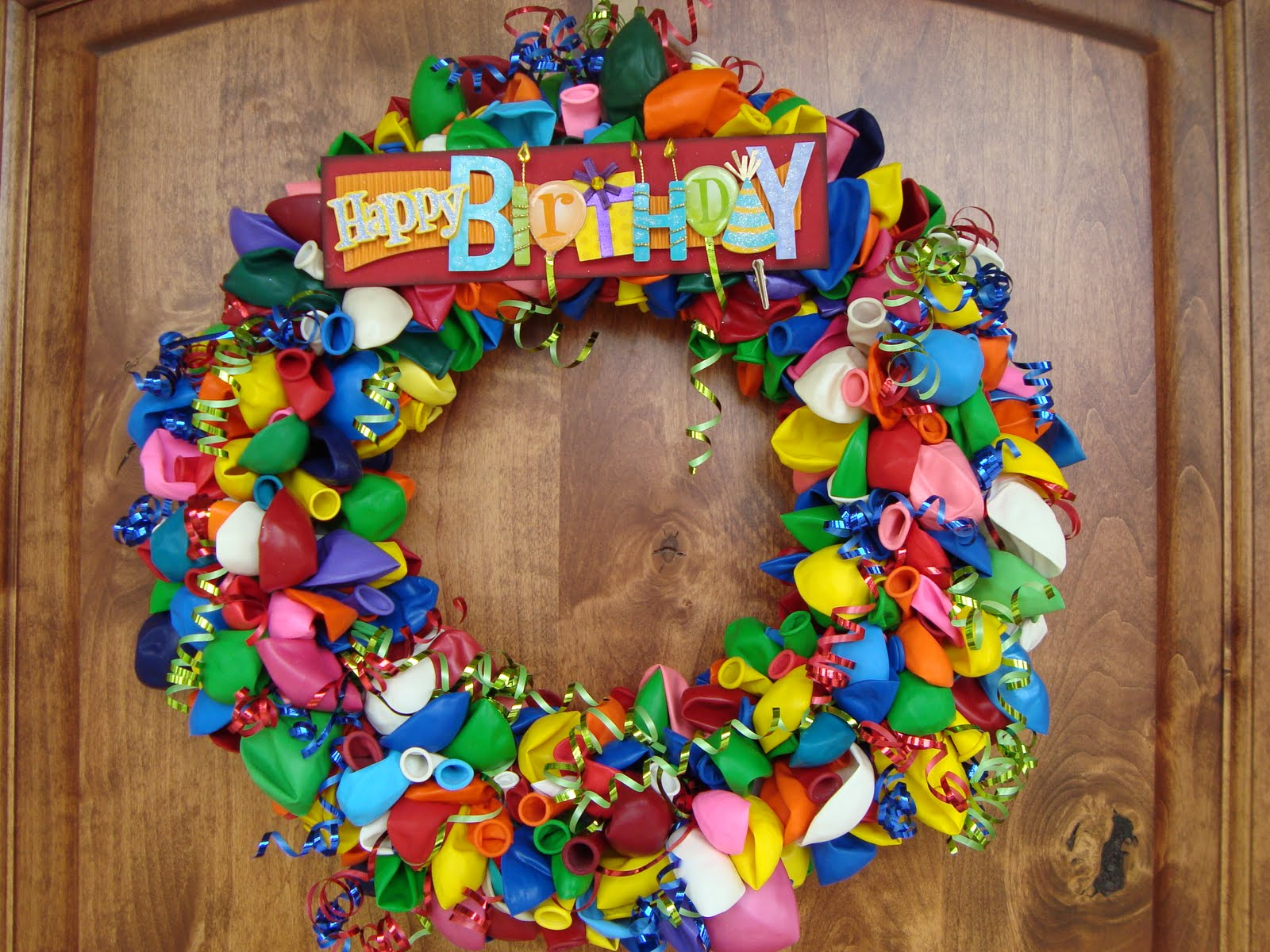 new birthday wreath