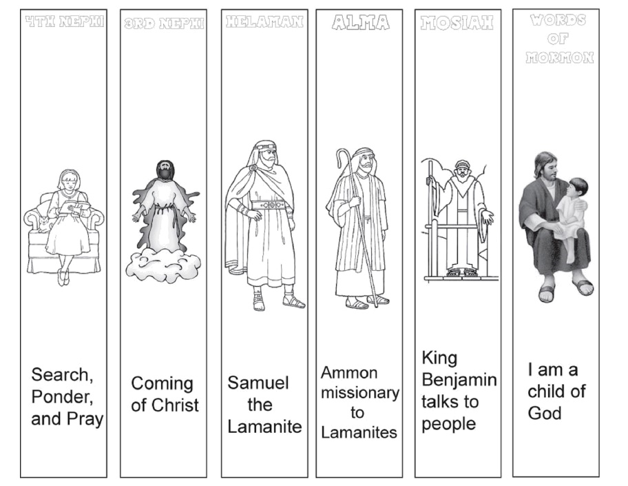 graphic relating to Who I Am in Christ Printable Bookmark titled Reserve of Mormon Bookmarks The Principle Doorway
