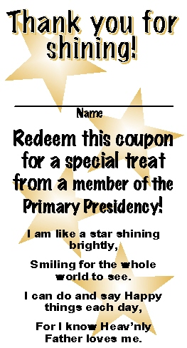 Star coupon PP