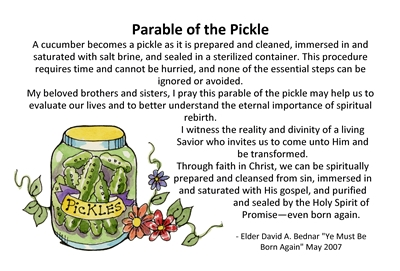 Parable of the pickle sm