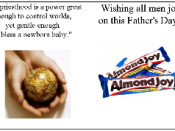 Father's Day Cards to go with Candy