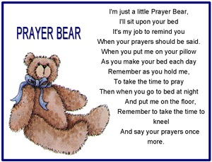 Prayer Bear