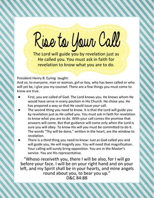 Rise to Your Call (Leadership) sm