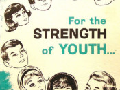 History of the For the Strength of Youth Pamphlet