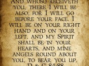 And whoso receiveth you … D & C 84:88 printable