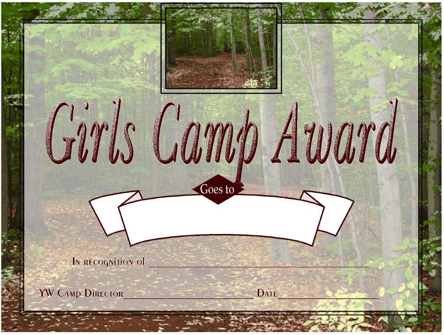 Camp certifcates the idea door for Idea door yw
