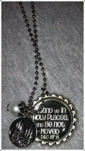 Stand Ye In Holy Places Necklace