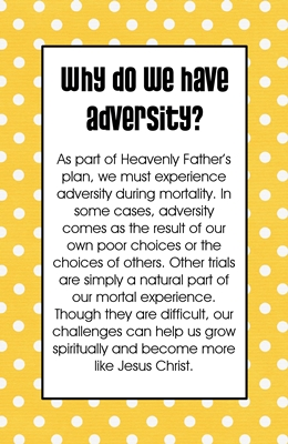 Why do we have adversity 2 sm