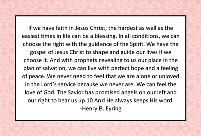 Why do we have adversity If we have faith in Jesus Christ sm