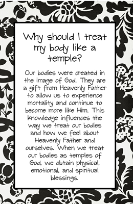 Why should I treat my body like a temple sm