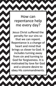 How can repentance help me every day?