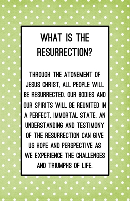 What is the resurrection s m