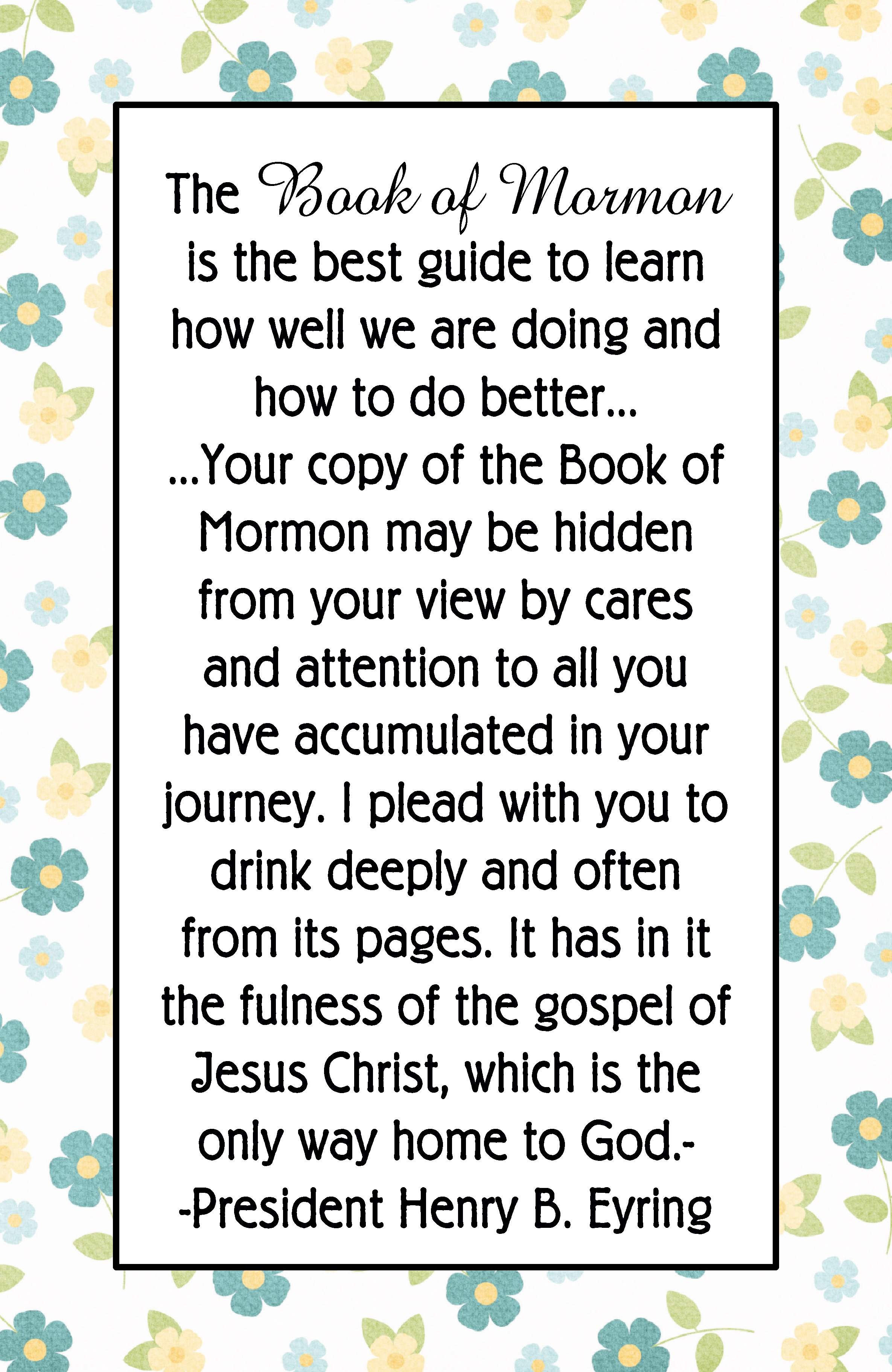 Book Of Mormon Quotes Why Do We Need The Book Of Mormon  The Idea Door