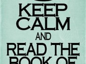 Keep Calm and Read the Book of Mormon
