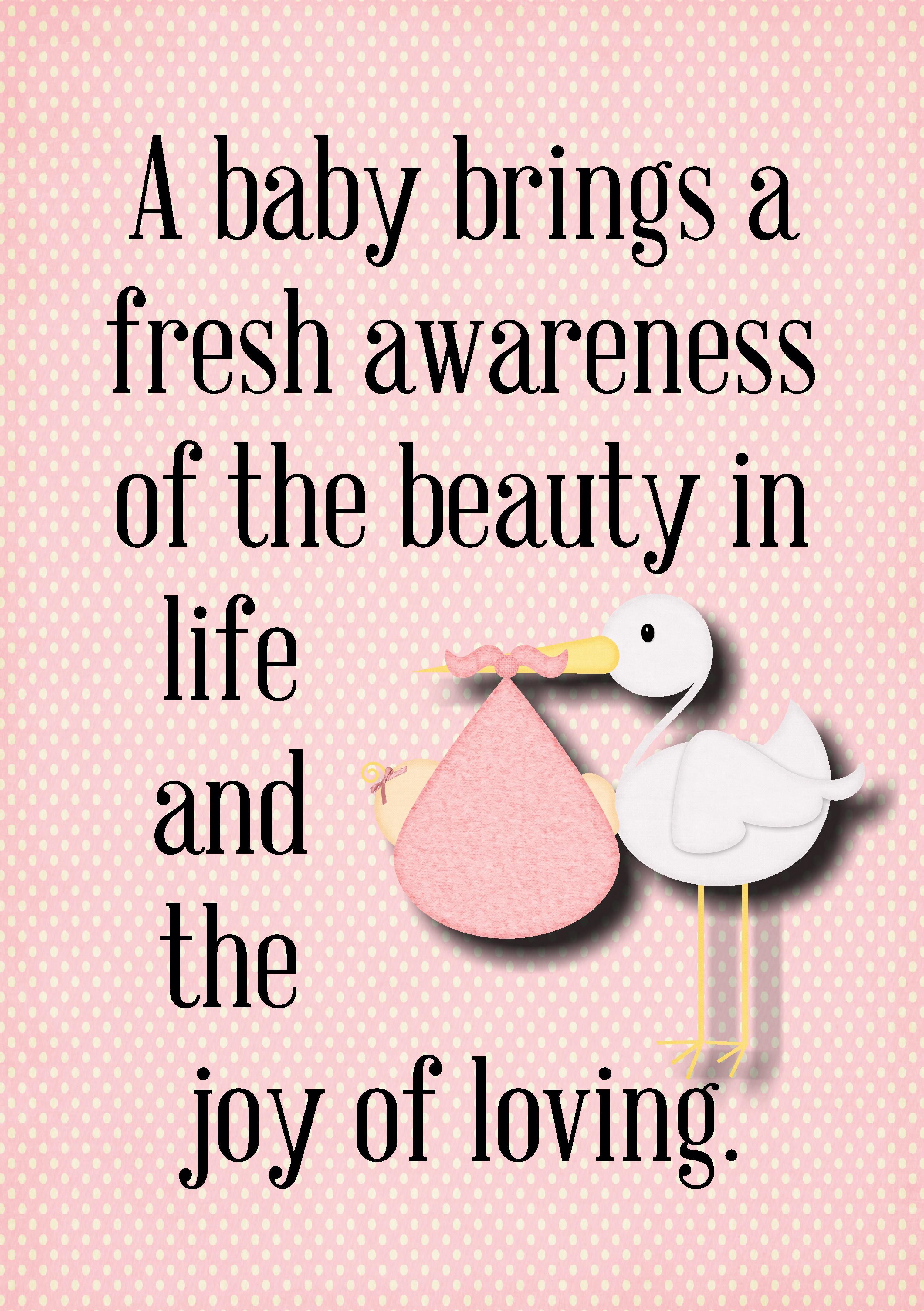 Baby Shower Printables - The Idea Door