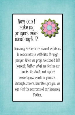 How can I make my prayers more meaningful sm