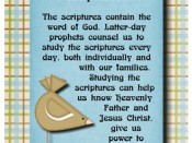 Why is it important to study the scriptures
