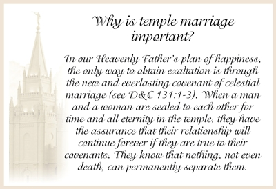 Why is temple marriage important sm