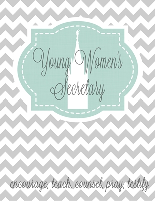 YW Binder -Young Women's Secretary sm