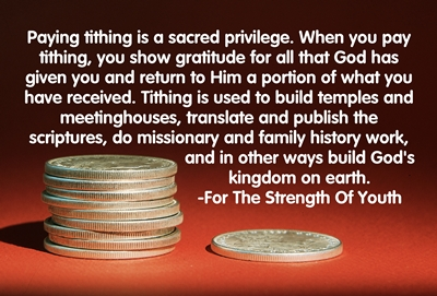 Why do we pay tithing 3 sm