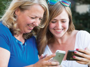 Parents, Teens Strengthen Relationships through Social Media