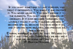 Eternal Marriage Quote by F. Burton Howard