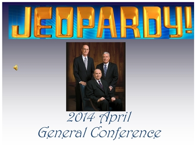 GC Jeopardy 2014