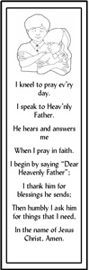 Prayer Bookmark