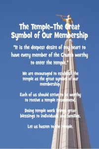 Chapter 13: The Temple—The Great Symbol of Our Membership