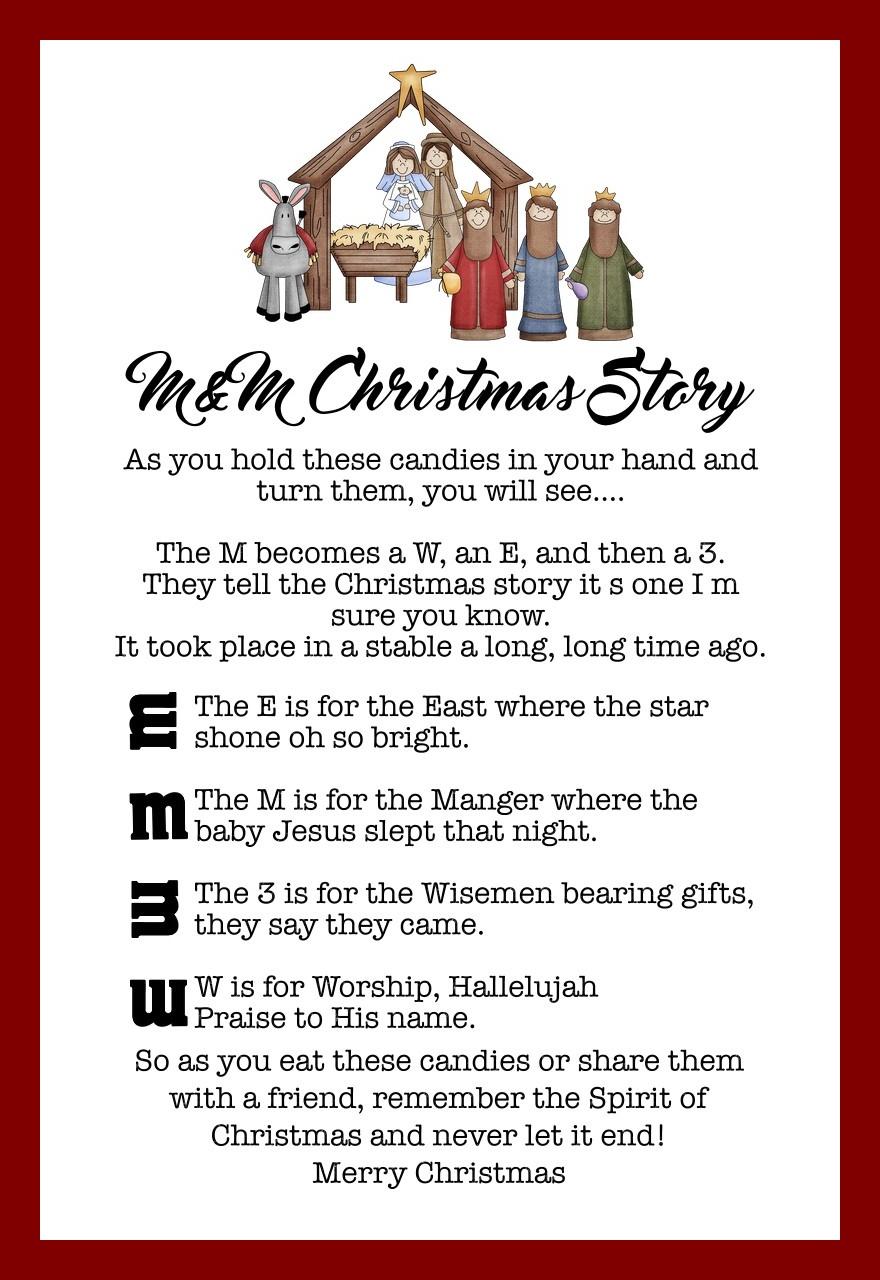 M&M Christmas Story – The Idea Door