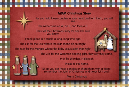 M Amp M Christmas Story The Idea Door