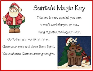 Santa's Key Poems