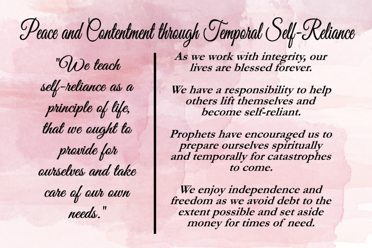 13-Chapter 13: Peace and Contentment through Temporal Self-Reliance
