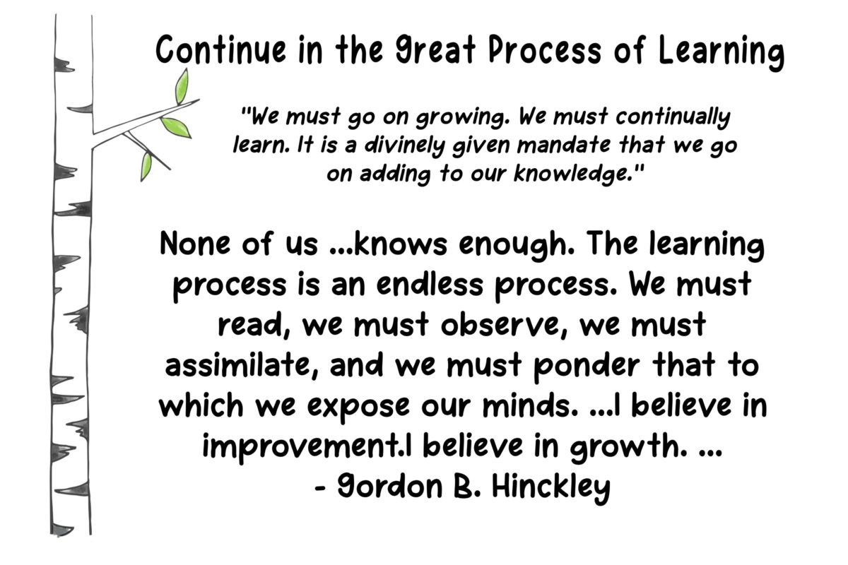 17- Chapter 17: Continue in the Great Process of Learning