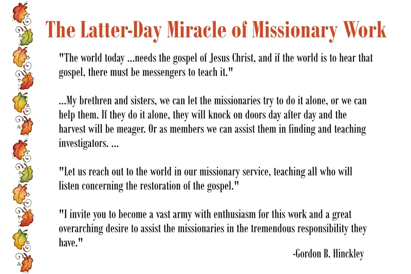 Chapter 21: The Latter-Day Miracle of Missionary Work