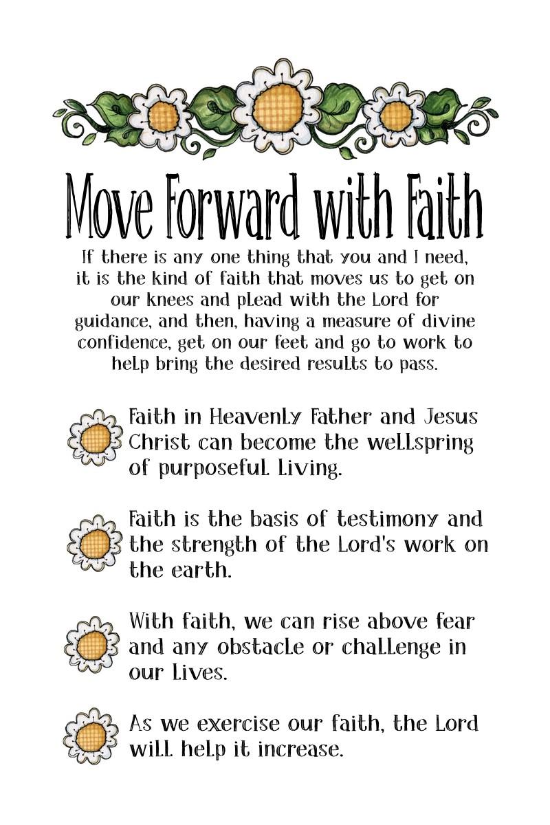 Gordon B Hinckley Quotes Chapter 25 Move Forward With Faith  The Idea Door