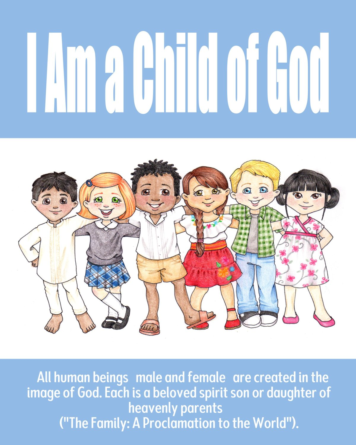 Theme Posters – I Am A Child of God