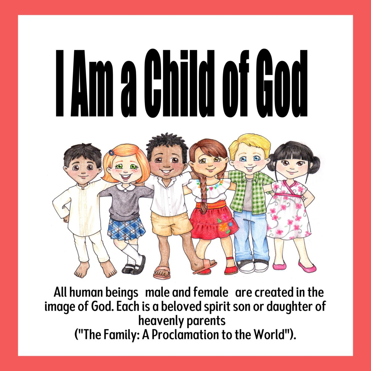 2018 Primary –  I Am a Child of God